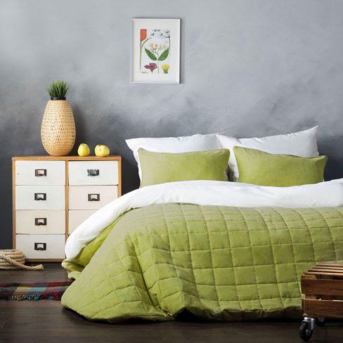 Покрывало на кровать Софт (Латур) 250Х270 зеленый
