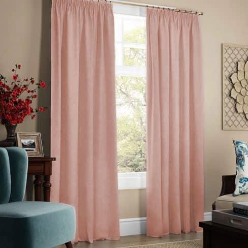 Комплект штор Софт светло-розовый