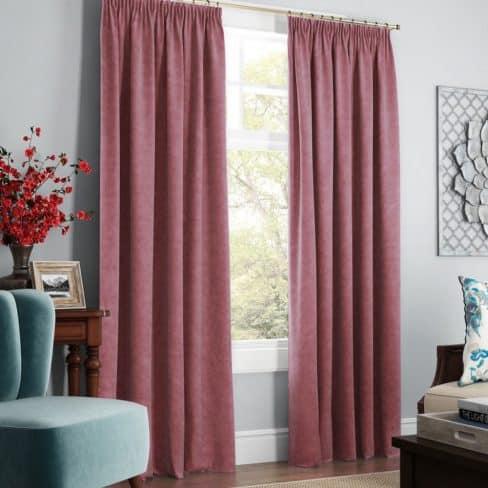 Комплект штор Софт розовый
