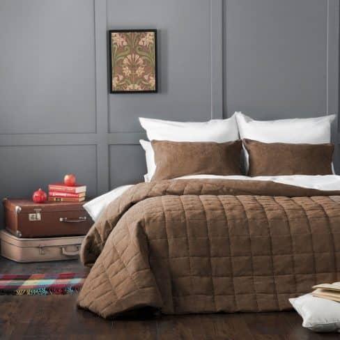 Покрывало на кровать Софт (Латур) 160Х220 коричневый