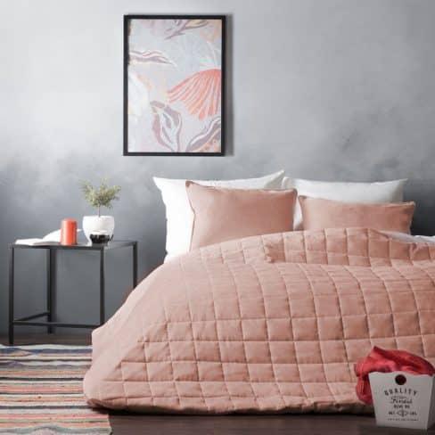 Покрывало на кровать Софт (Латур) светло-розовый