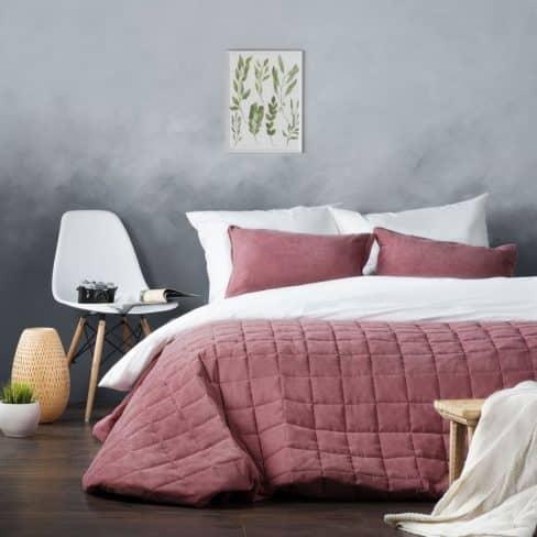 Покрывало на кровать Софт (Латур) розовый