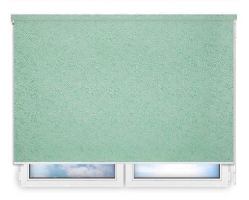 Готовые рулонные шторы Шелк салатовый