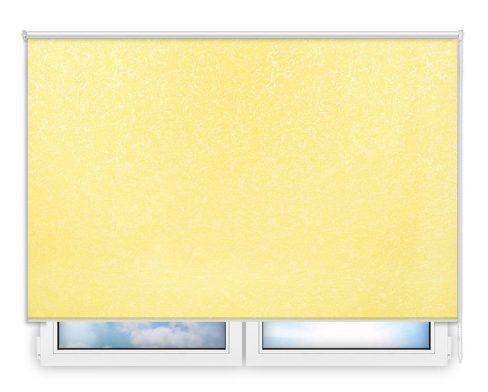 Готовые рулонные шторы Шелк желтый