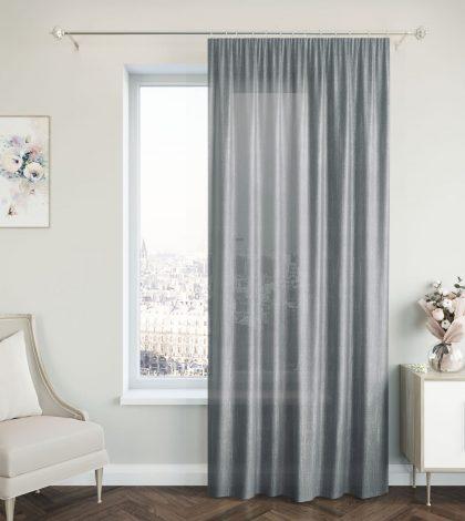 Портьера IJ 99-01 серый