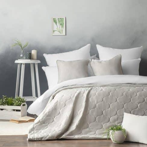 Покрывало на кровать Довер 230Х250 серый