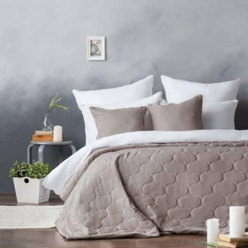 Покрывало на кровать Довер 230Х250 капучино