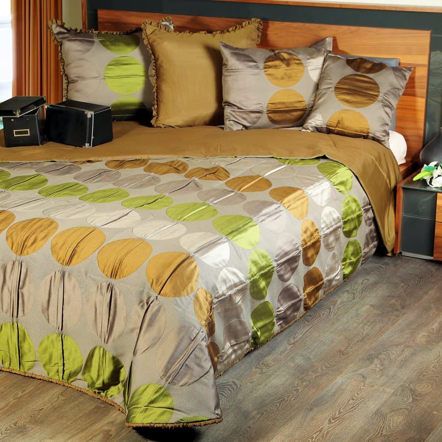 Покрывало на кровать Сан-Франциско (зеленый) майка классическая printio сан хосе шаркс