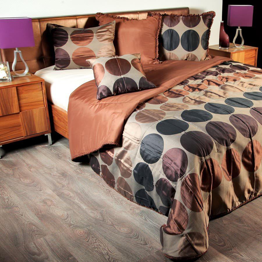 Покрывало на кровать Сан-Франциско (коричневый) майка классическая printio сан хосе шаркс