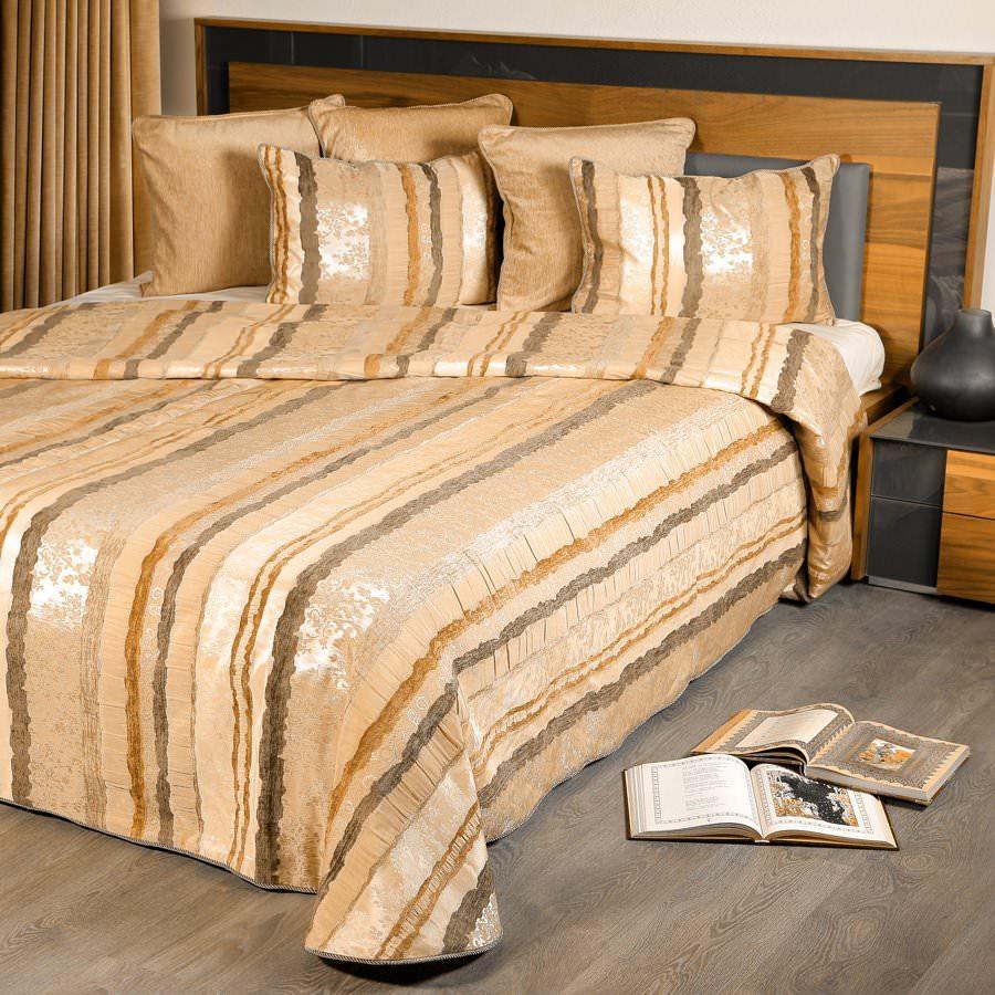 Покрывало на кровать Мадрид (зеленый) желтое покрывало на кровать