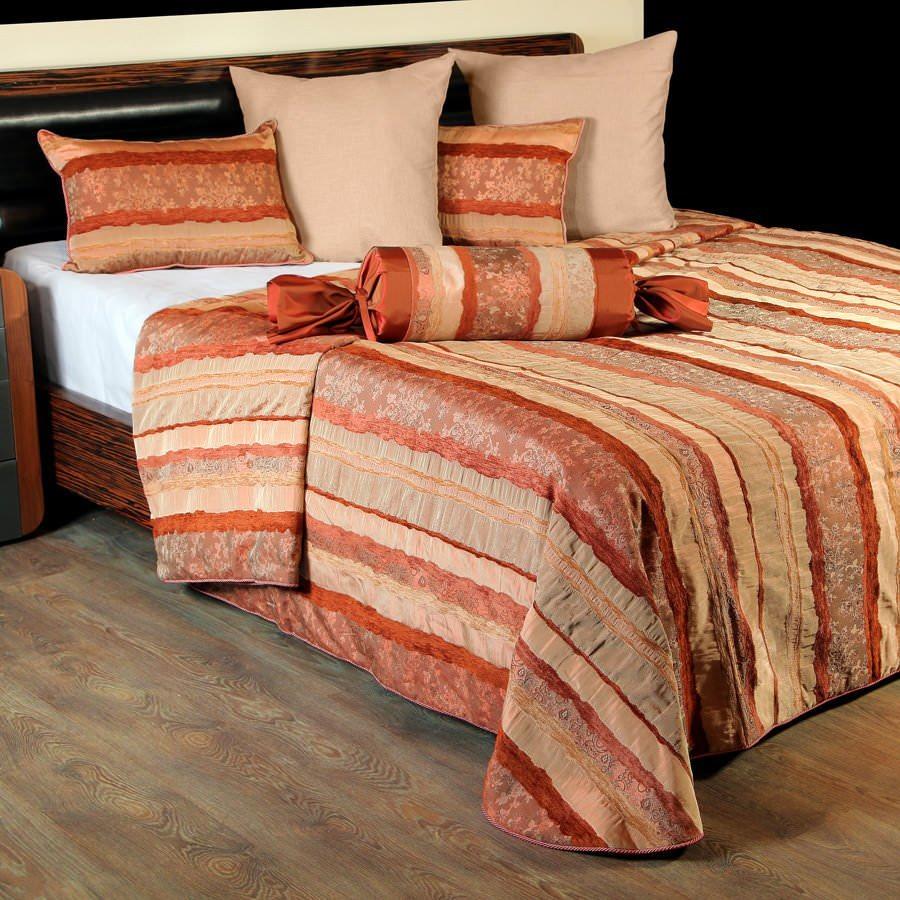Покрывало на кровать Мадрид (бордовый) желтое покрывало на кровать
