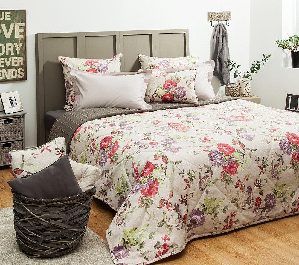 Покрывало на кровать Саммер (розовый) желтое покрывало на кровать