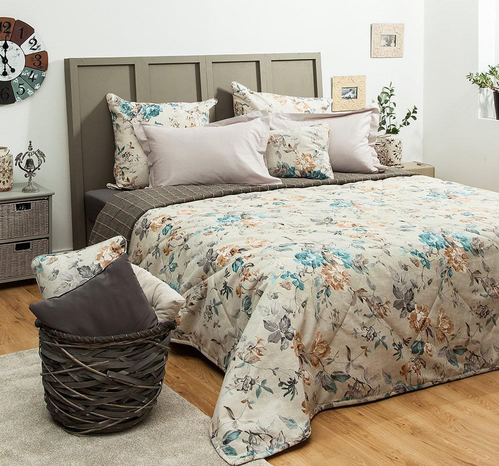 Покрывало на кровать Саммер (бирюзовый) желтое покрывало на кровать