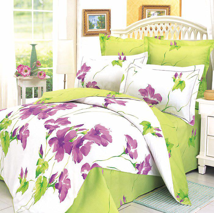 Постельное белье Сайлид евро B-3 постельное белье евро cатин style нав 70х70 или 50х70 в ассортименте