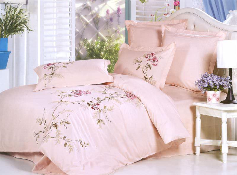 Постельное белье Сайлид евро D-141 постельное белье евро cатин style нав 70х70 или 50х70 в ассортименте