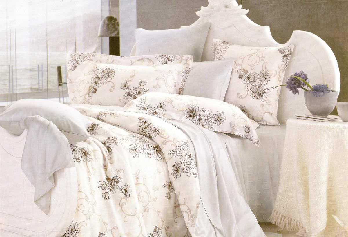Постельное белье Сайлид евро Е-34 постельное белье евро cатин style нав 70х70 или 50х70 в ассортименте