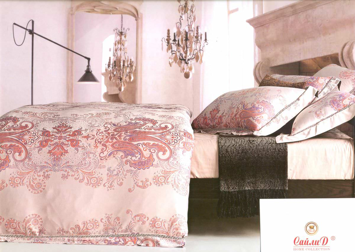 Постельное белье Сайлид евро К-73 постельное белье евро cатин style нав 70х70 или 50х70 в ассортименте